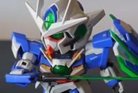 [กันดั้ม บ้าหอบฟาง?] [Gundam SD] 00 Qan[T] by best โดย moobest