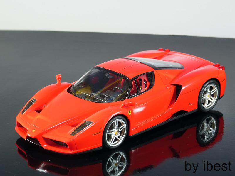 Enzo Ferrari 1/24 Tamiya by best โดย moobest